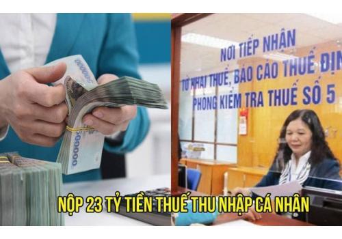 Kinh doanh online một cá nhân ở Hà Nội nộp thuế 23 tỷ đồng
