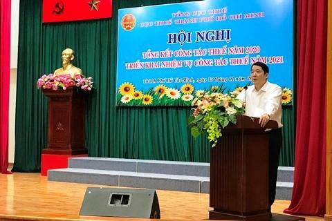 Cục Thuế TP.Hồ Chí Minh quyết tâm hoàn thành nhiệm vụ 2021 ở mức cao nhất